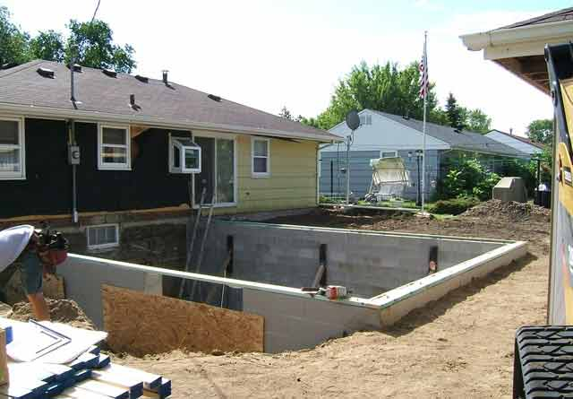 weinstein construction can build you a basement for your existing home