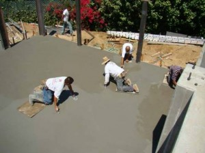 Stamped Concrete starts with a foundation of solid concrete.