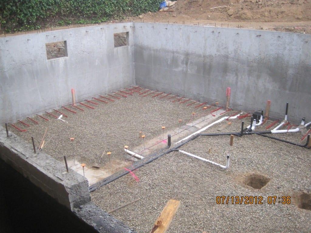 Basement Drainage System Installation Foundation Repair
