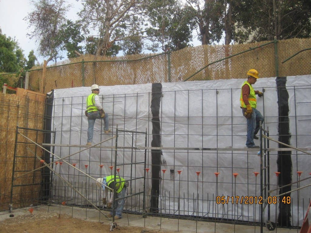 Reinforced Concrete Basement Walls Foundation Repair Amp Earthquake Retrofitting In Los Angeles
