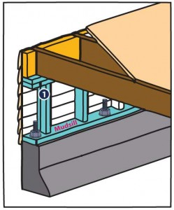 Cripple walls are only a suitable replacement when house bolting is not practical if they are reinforced.