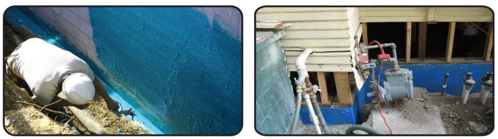 drainage systems waterproofing los angeles