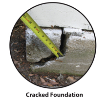 Cracked foundation repair Los Angeles