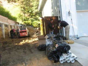 concrete retaining walls installation los angeles