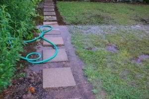 Yard drainage solutions weinstein retrofitting systems for Backyard flooding solutions