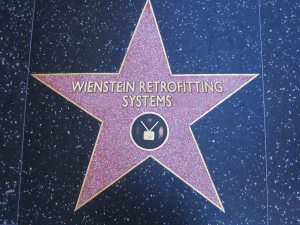 Weinstein Retrofitting Star of Fame in foundation repair