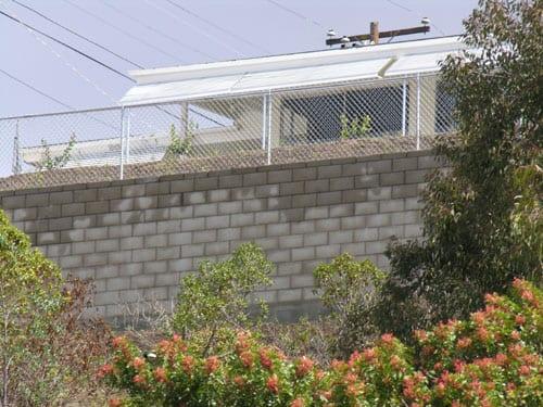 Hillside Drainage Retaining Walls Foundation Repair