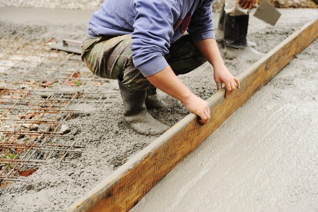 concrete slab foundation for homes